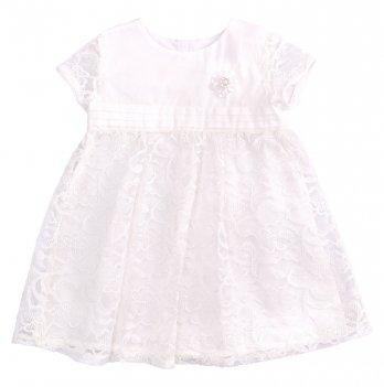 Детское платье Bembi Молочный Вуаль ПЛ255