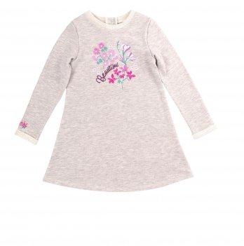 Детское платье Bembi Серый меланж Трикотаж ПЛ263