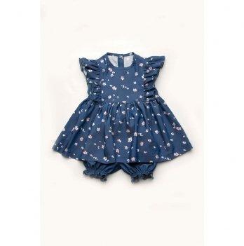 Платье-туника с шортиками Модный карапуз 03-00869