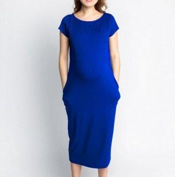 Платье для беременных и кормящих мам Creative Mama, летнее Мayorka Размер М