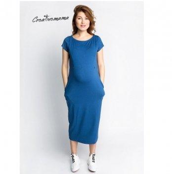Платье для беременных и кормящих Creative Mama In Love летнее