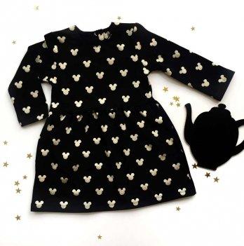 Платье Merrygoround, Микки черный