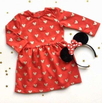 Платье Merrygoround, Микки красный