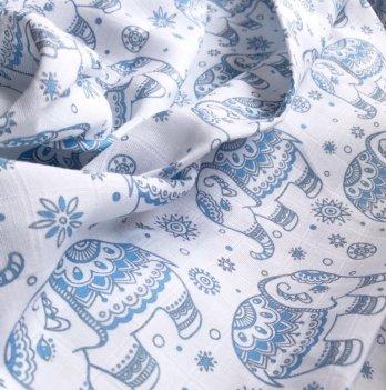 Муслиновая пеленка Embrace Слоники 120х100 см