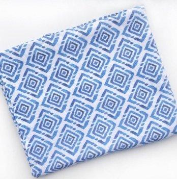 Муслиновая пеленка Embrace Ромбы 100х80 см