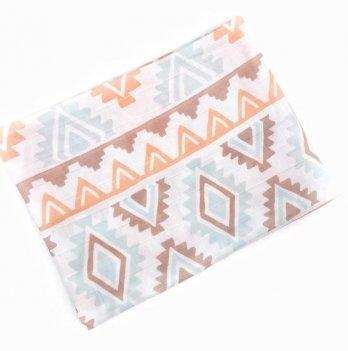 Муслиновая пеленка Embrace Бохо полосы 100х80 см
