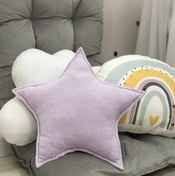 Декоративная подушка Маленькая соня Звезда Лиловый 106121625