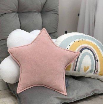 Декоративная подушка Маленькая соня Звезда Розовый 10612179