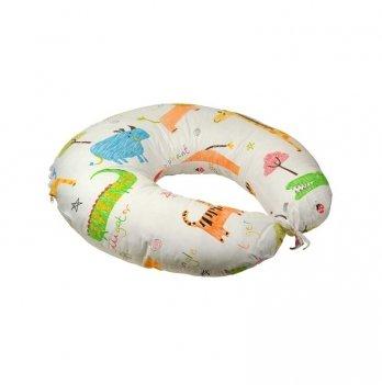 Подушка для кормления Руно Jungle с силиконовым наполнителем + наволочка