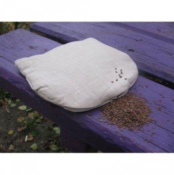 Подушка-грелка (семена льна), ЛинТекс