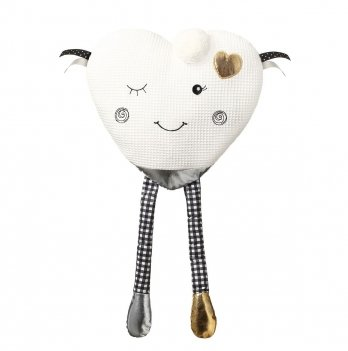 Подушка-обнимашка для младенцев BabyOno Веселое сердечко 761
