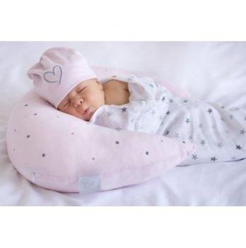 Подушка для кормления и путешествий Effiki Месяц розовый