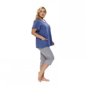 Пижама женская Dobranocka PB.9649 deep blue