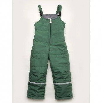 Полукомбинезон детский демисезонный Модный карапуз Зеленый 03-00837