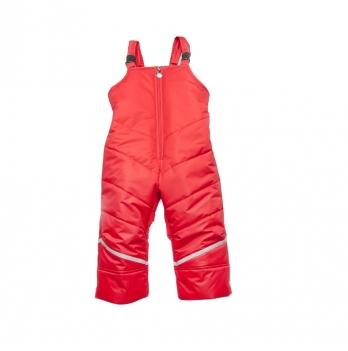 Полукомбинезон зимний Модный карапуз 03-00892 красный