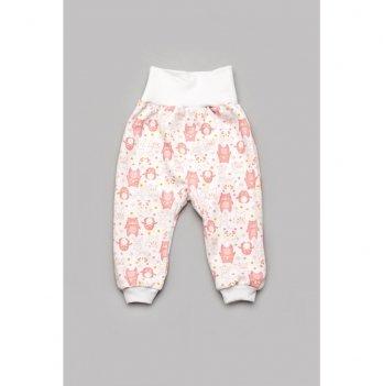 Ползунки-штанишки для девочки Модный карапуз Мишки Розовый 301-00050