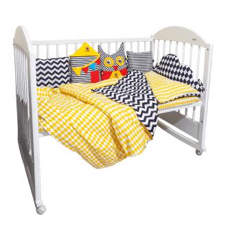 Набор защитных бортиков Macik Baby Box Sleep МС 180601-01