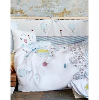 Постельное белье для младенцев Karaca Home - Balloon 2018-1, аппликация