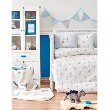 Постельное белье для младенцев Karaca Home - Tospa 2018-1, ранфорс