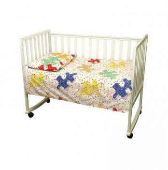 Комплект постельного белья в детскую кроватку Руно 932.116 Пазли 02 3 предмета