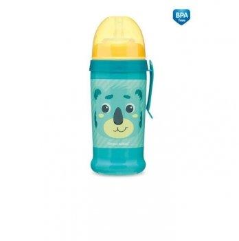 Поильник с силиконовой насадкой Canpol babies Hello Little Коала Бирюзовый 56/510