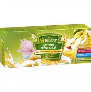 Печенье детское Heinz с бананом и яблоком 160 г