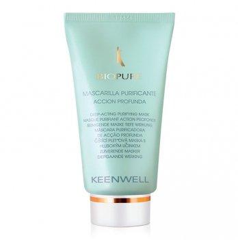 Маска для жирной кожи Keenwell Biopure, очищающая, глубокого действия