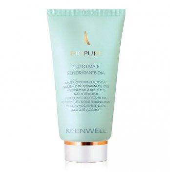 Дневной флюид для жирной кожи Keenwell Biopure, матирующий, увлажняющий