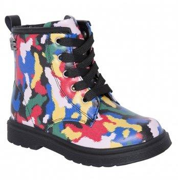 Демисезонные ботинки для девочки Tuc Tuc 50641 Акварель