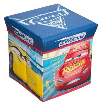 Коробка-стул для игрушек Arditex Тачки 3, синий