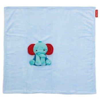 Плед с игрушкой Arditex Fisher-Price Слоненок, голубой
