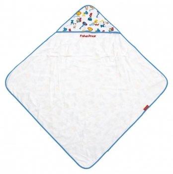 Полотенце-уголок Arditex  Fisher-Price Зверята, в подарочной упаковке