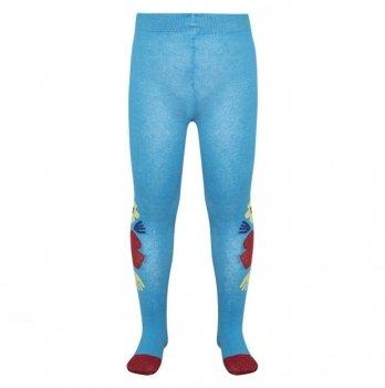 Колготы для девочки Tuc Tuc Цветы 50305 голубой