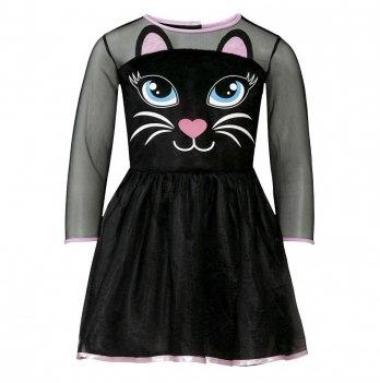 Платье маскарадное Halloween Черная кошка