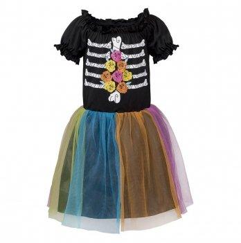 Платье маскарадное Halloween Королева ночных цветов