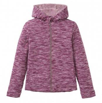 Куртка текстильная Pepperts искусственный мех ягодный меланж