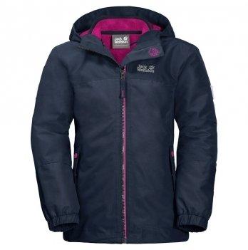 Зимняя детская куртка Jack Wolfskin 1605264-1910 G ICELAND 3IN1 JKT