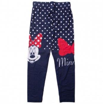 Лосины для девочки, Disney Sun City Минни Маус синие в горошек