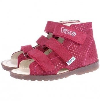 Сандали ортопедические для девочки Mrugala розовые