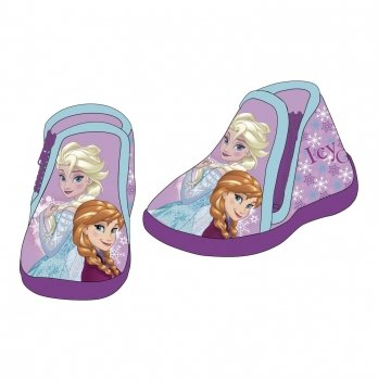 Тапочки на молнии Disney Холодное сердце фиолетовые