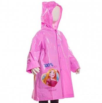 Плащ-дождевик Disney Принцессы, фиолетовый