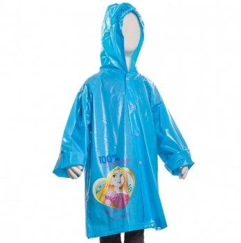 Плащ-дождевик Disney Принцессы, голубой