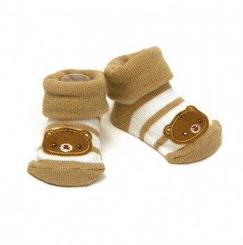 Носочки для новорожденных Arditex Fisher-Price, коричневые