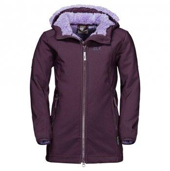Демисезонное пальто для девочки Jack Wolfskin 1608021-1600 KISSEKAT COAT GIRLS
