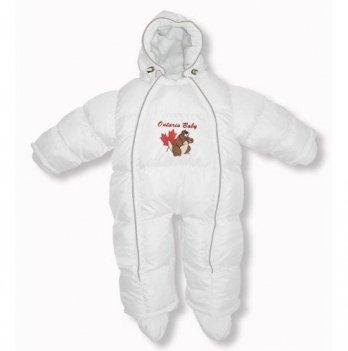 Пуховый комбинезон-трансфоромер Baby Walk Ontario Baby ART-0000343 белый