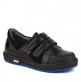 Туфли кожаные для мальчика Shagovita 31145_black