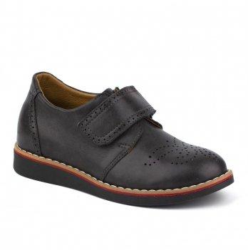 Туфли кожаные для мальчика Shagovita 31150_gray
