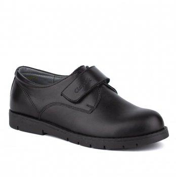 Туфли кожаные для мальчика Shagovita 51317_black