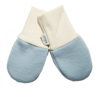 Варежки шерстяные для младенцев Kivat 150-59 голубой