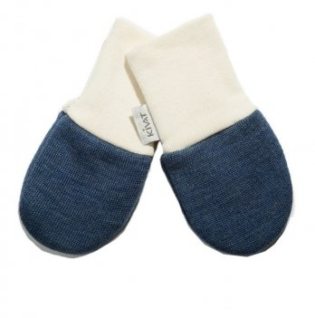 Варежки шерстяные для младенцев Kivat 150-67 синий